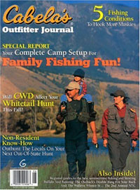 Cabelas Outfitter Journal Magazine